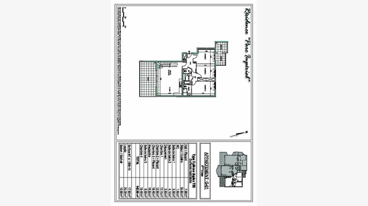 Achat Appartement 5 pièces à Ajaccio - vignette-4