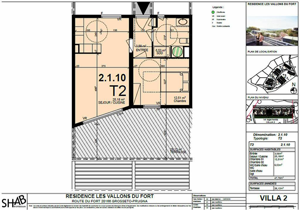 Achat Appartement 2 pièces à Grosseto-Prugna - vignette-5