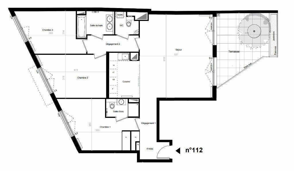 Achat Appartement 4 pièces à Boulogne-Billancourt - vignette-1