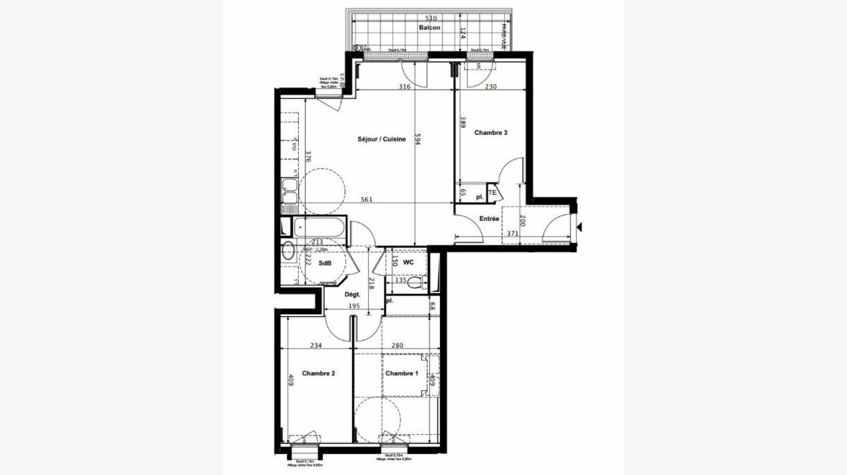 Achat Appartement 4 pièces à Alfortville - vignette-1