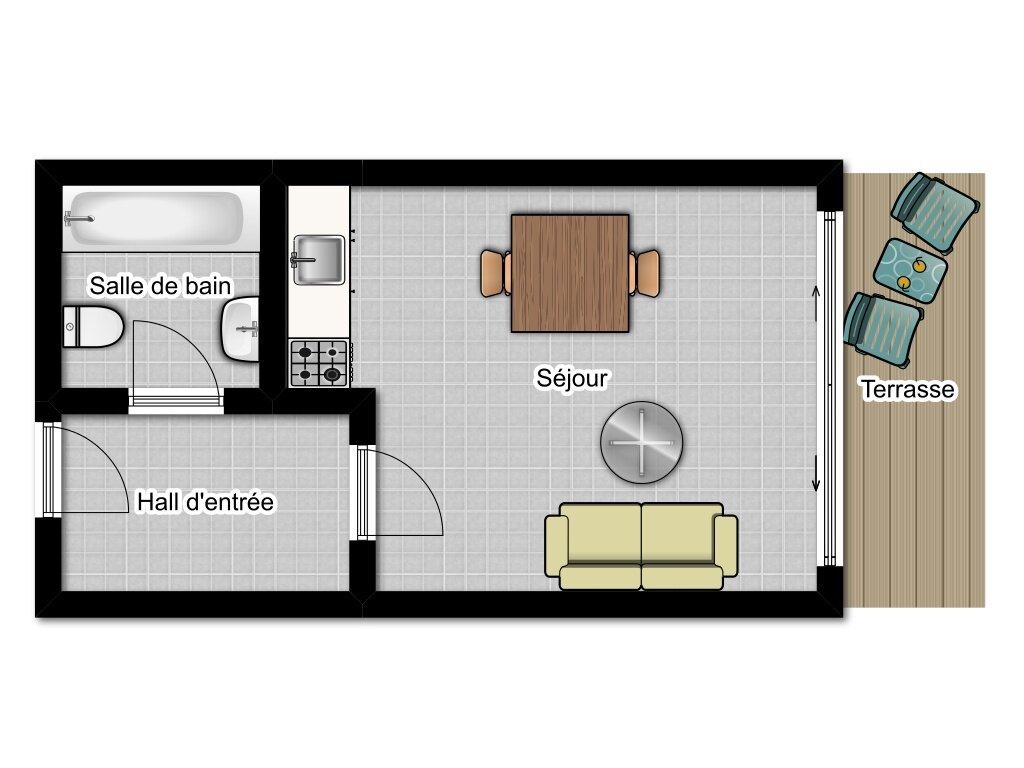 Achat Appartement 1 pièce à Roquebrune-Cap-Martin - vignette-9
