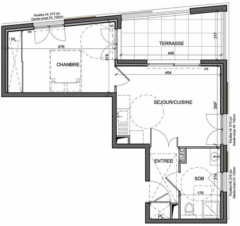 Achat Appartement 2 pièces à Beausoleil - vignette-2