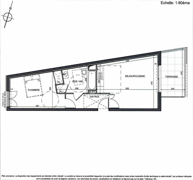 Achat Appartement 2 pièces à Beausoleil - vignette-1