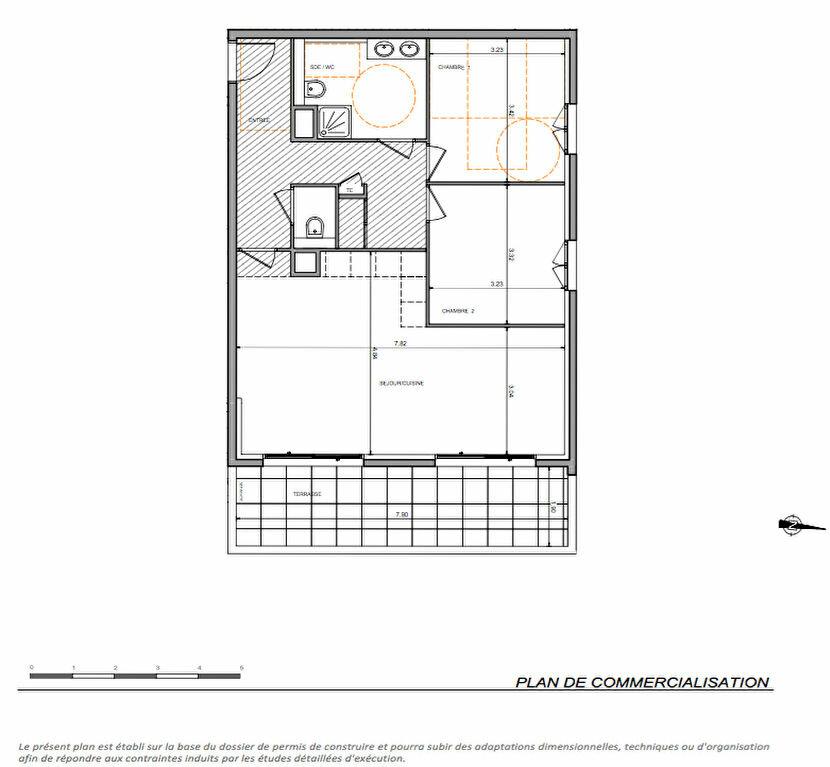 Achat Appartement 3 pièces à Beausoleil - vignette-2