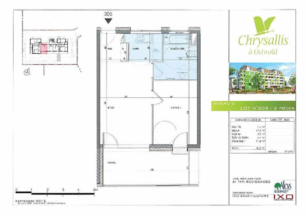 Location Appartement 2 pièces à Ostwald - vignette-5