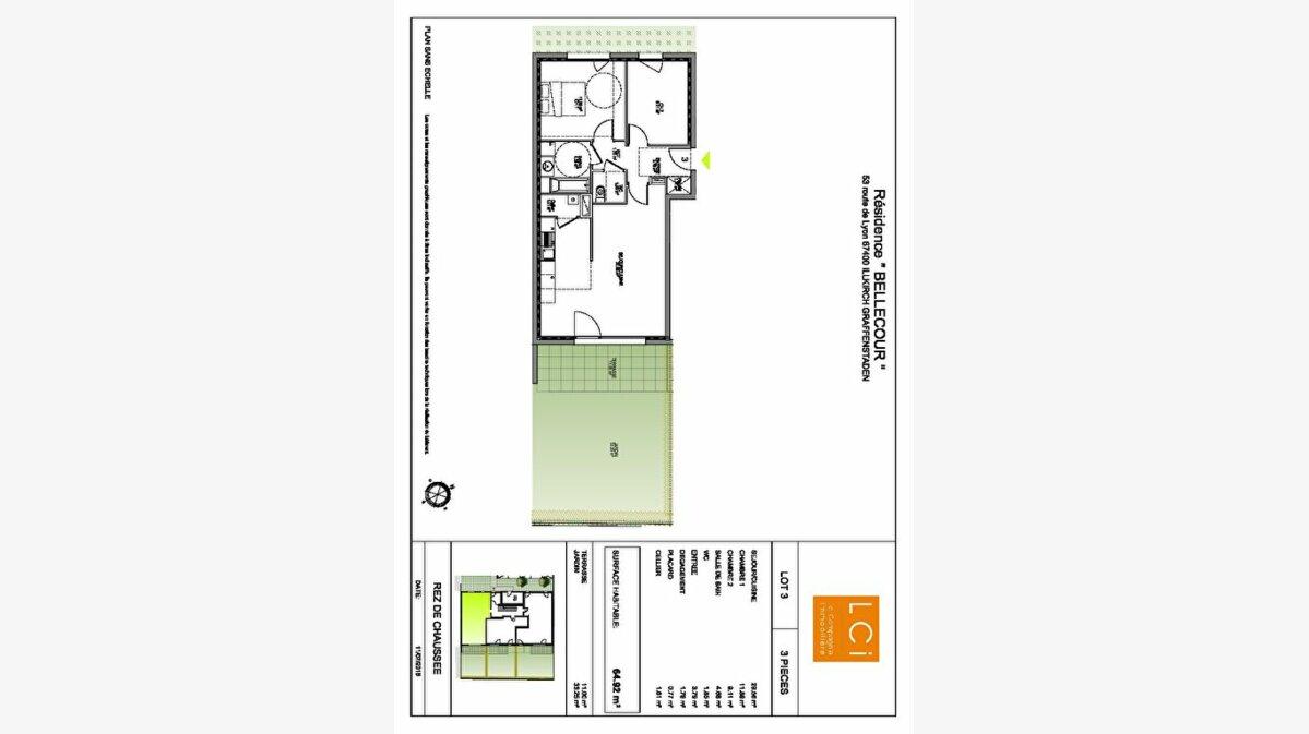 Achat Appartement 3 pièces à Illkirch-Graffenstaden - vignette-2