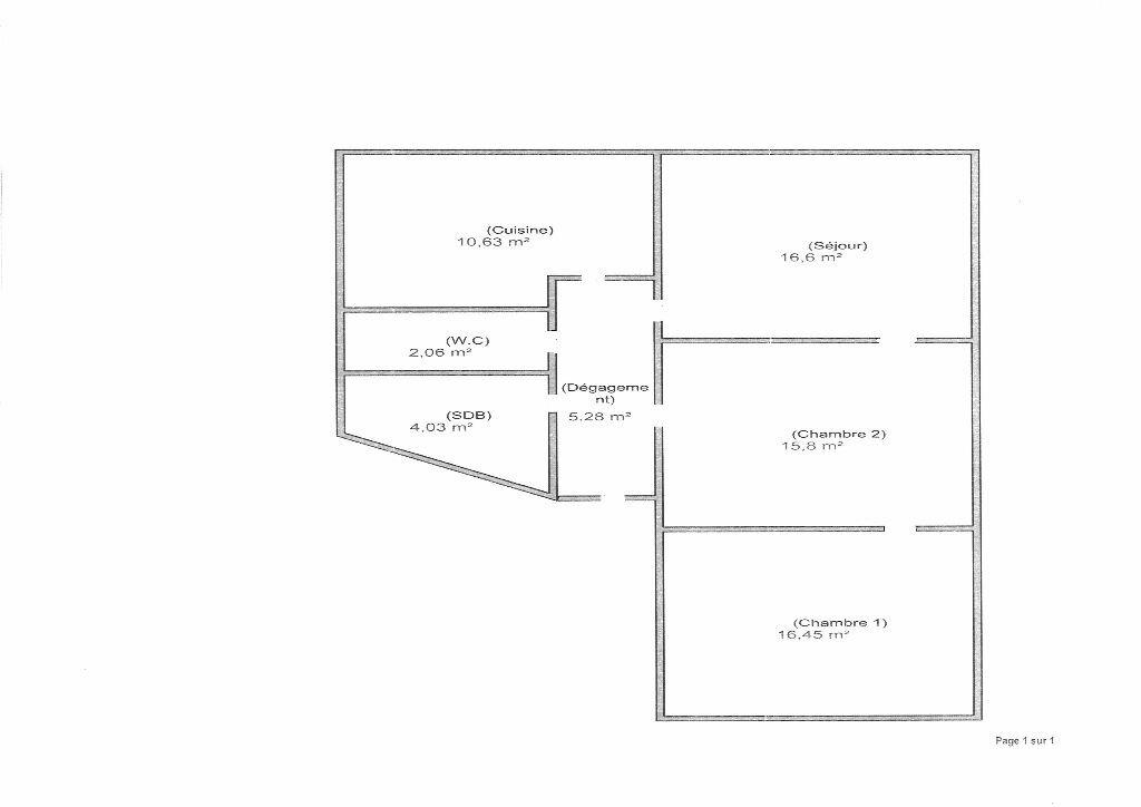 Location Appartement 3 pièces à Strasbourg - vignette-7