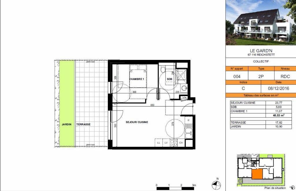 Achat Appartement 2 pièces à Reichstett - vignette-2