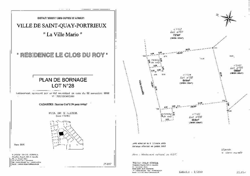 Achat Terrain  à Saint-Quay-Portrieux - vignette-5