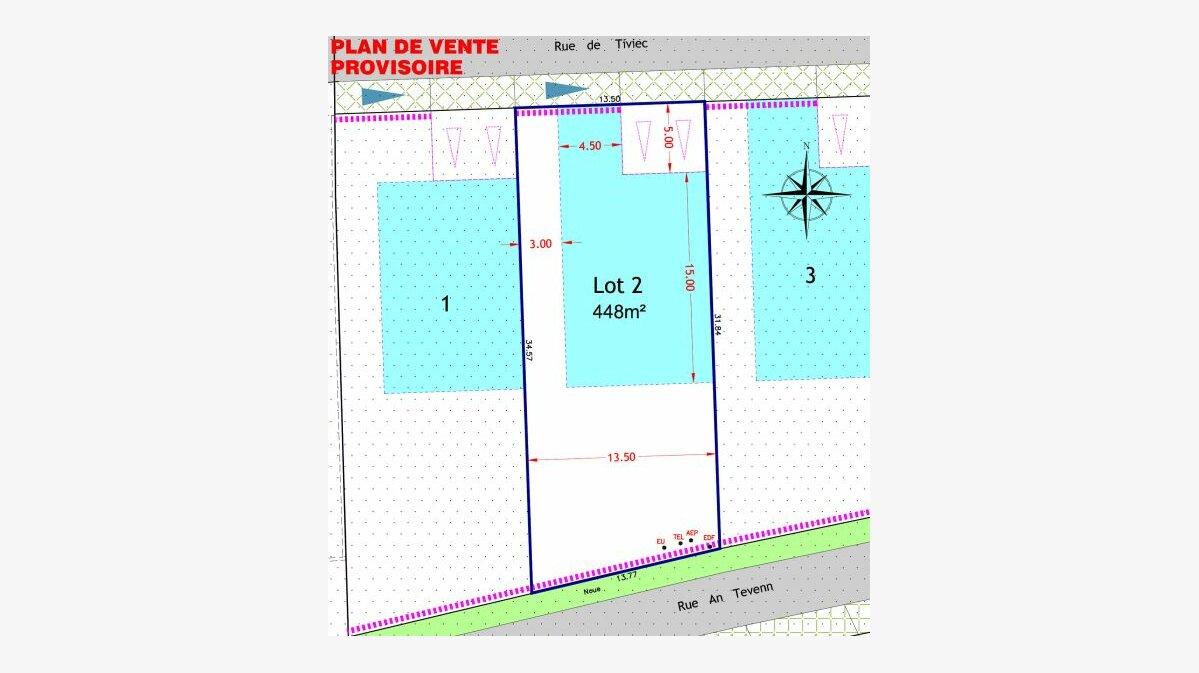 Achat Terrain  à Quiberon - vignette-1