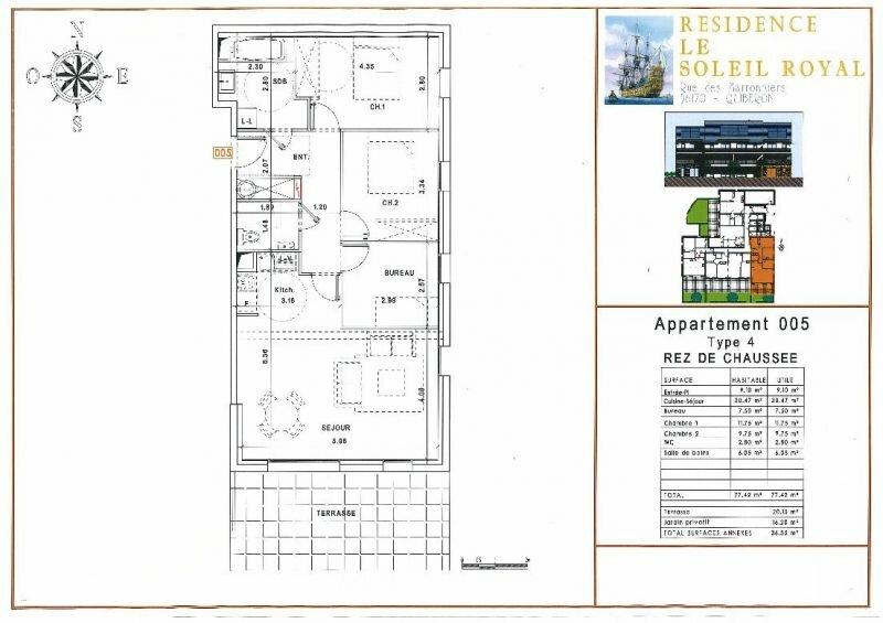 Achat Appartement 4 pièces à Quiberon - vignette-4