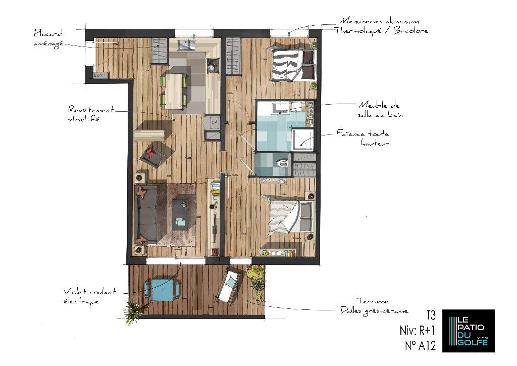 Achat Appartement 3 pièces à Sarzeau - vignette-3
