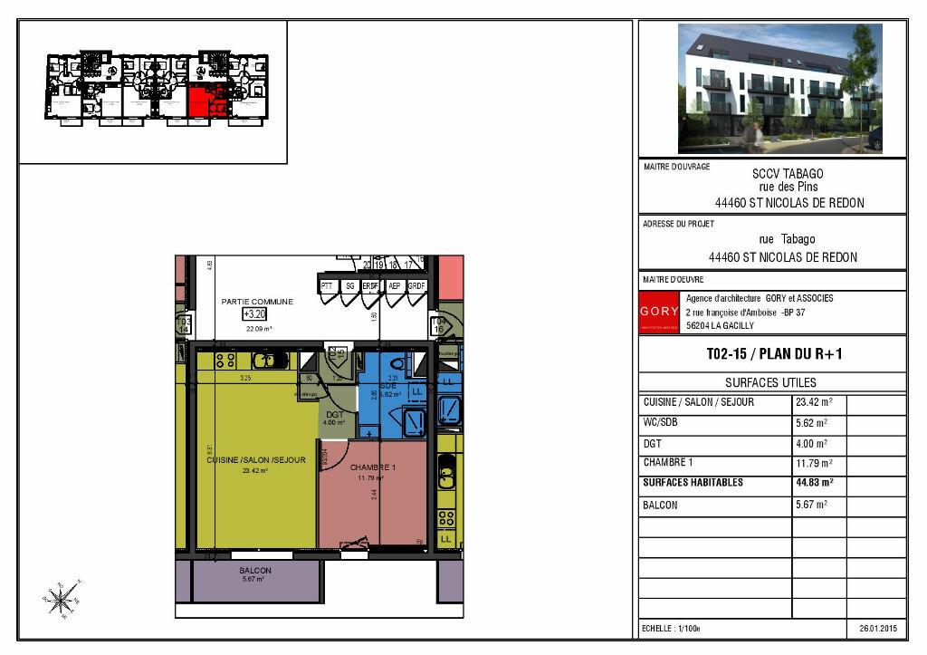 Achat Appartement 2 pièces à Saint-Nicolas-de-Redon - vignette-3
