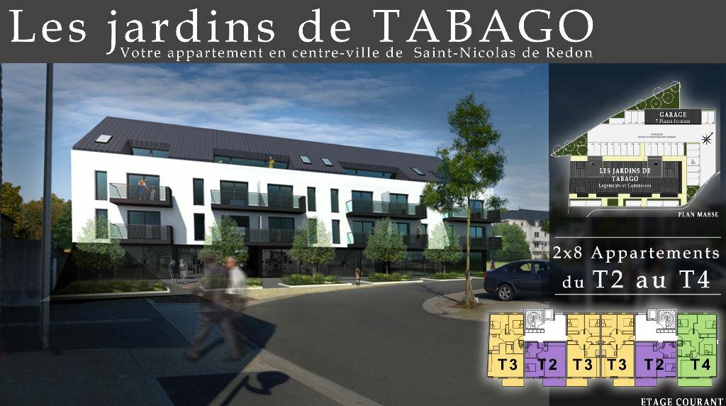 Achat Appartement 4 pièces à Saint-Nicolas-de-Redon - vignette-3