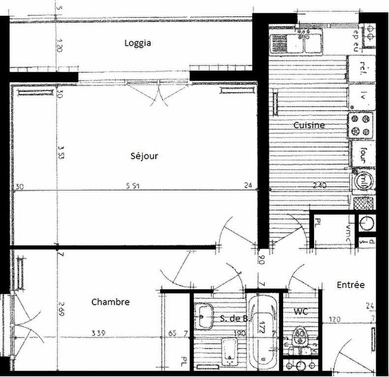 Achat Appartement 2 pièces à Maurepas - vignette-1