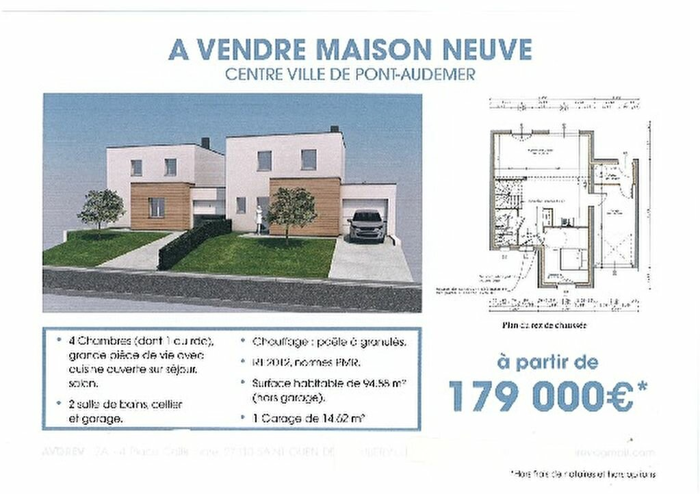 Achat Maison 5 pièces à Pont-Audemer - vignette-1