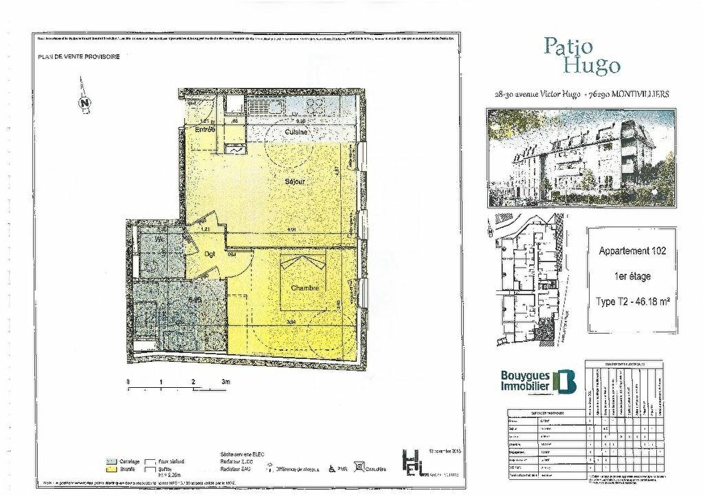 Achat Appartement 2 pièces à Montivilliers - vignette-5