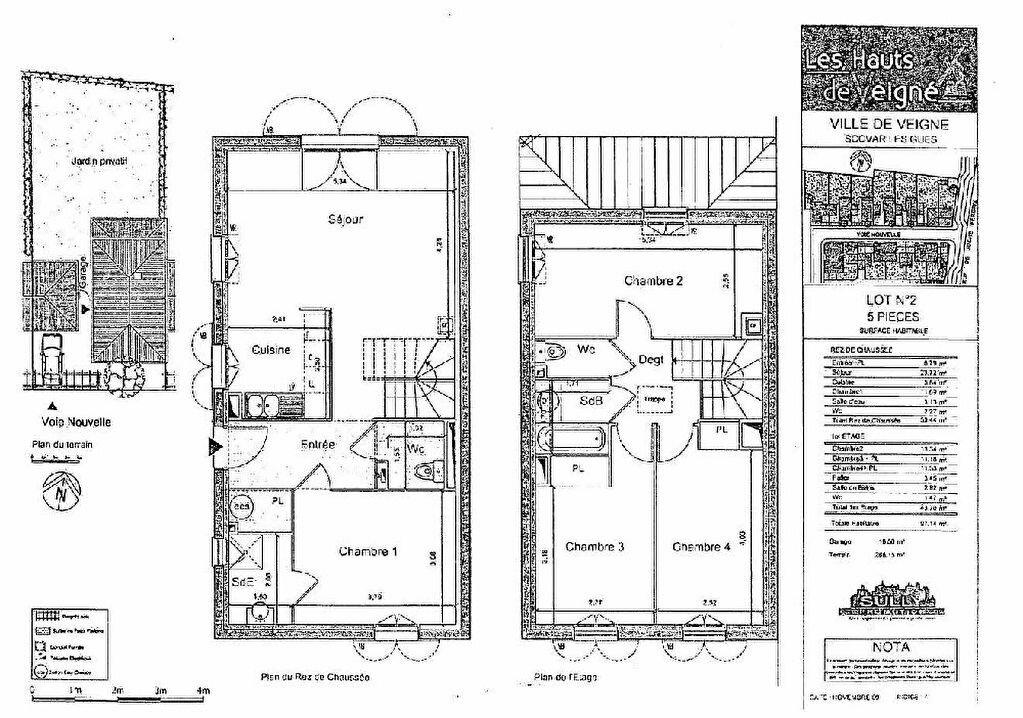 Location Maison 5 pièces à Veigné - vignette-4