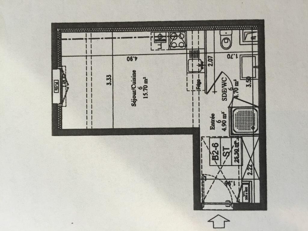 Achat Appartement 1 pièce à Chilly-Mazarin - vignette-1