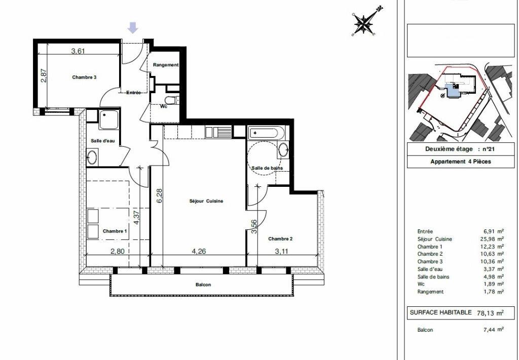 Achat Appartement 4 pièces à Yerres - vignette-2