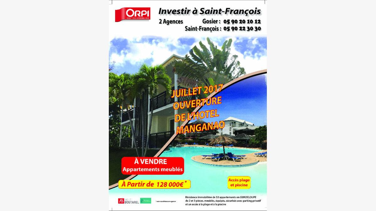 Achat Appartement 2 pièces à Saint-François - vignette-1