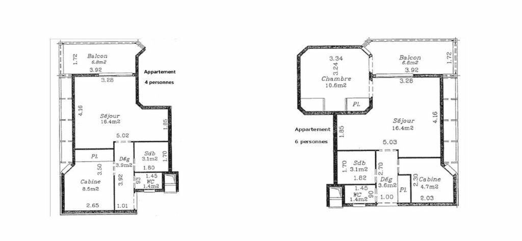 Achat Appartement 3 pièces à Saint-François - vignette-4