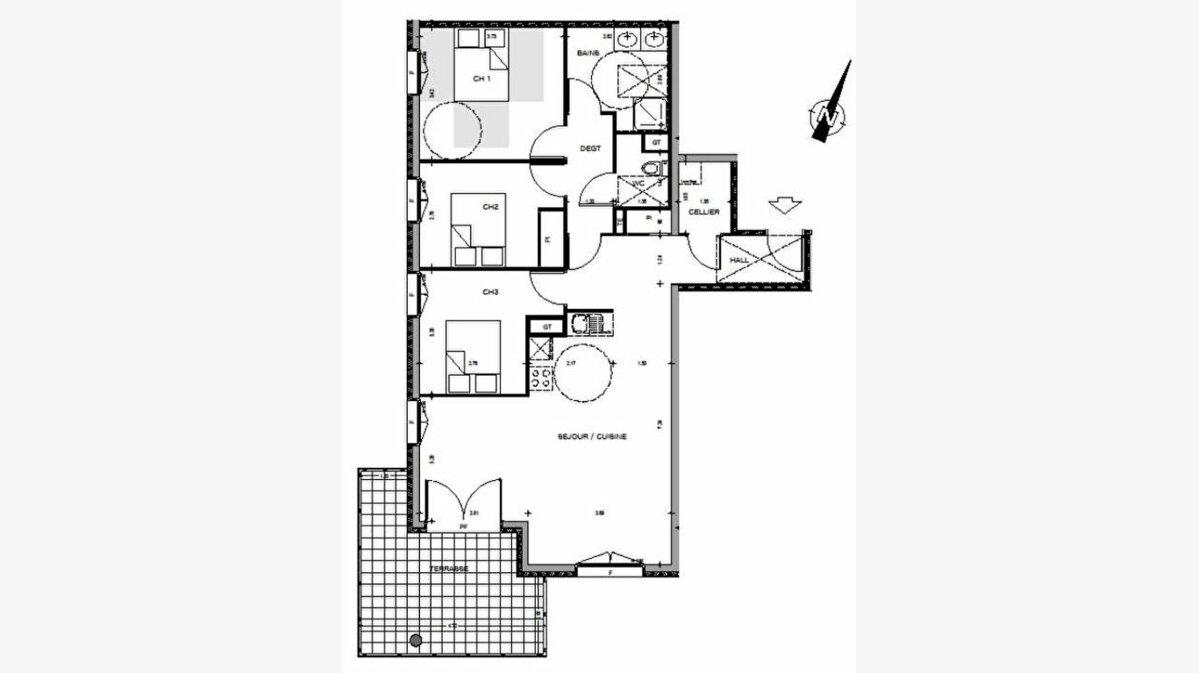 Achat Appartement 4 pièces à Manosque - vignette-4