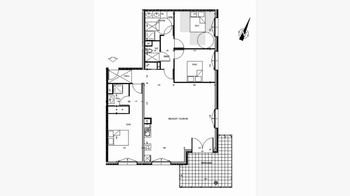 Achat Appartement 4 pièces à Manosque - vignette-6