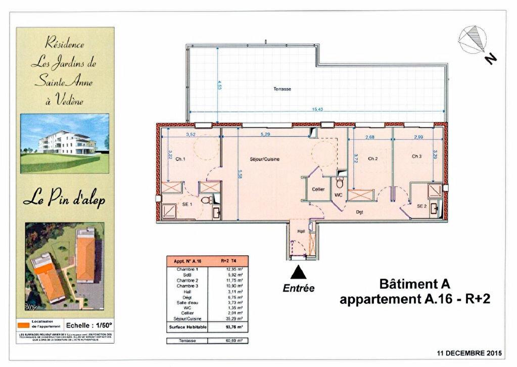 Achat Appartement 4 pièces à Vedène - vignette-4