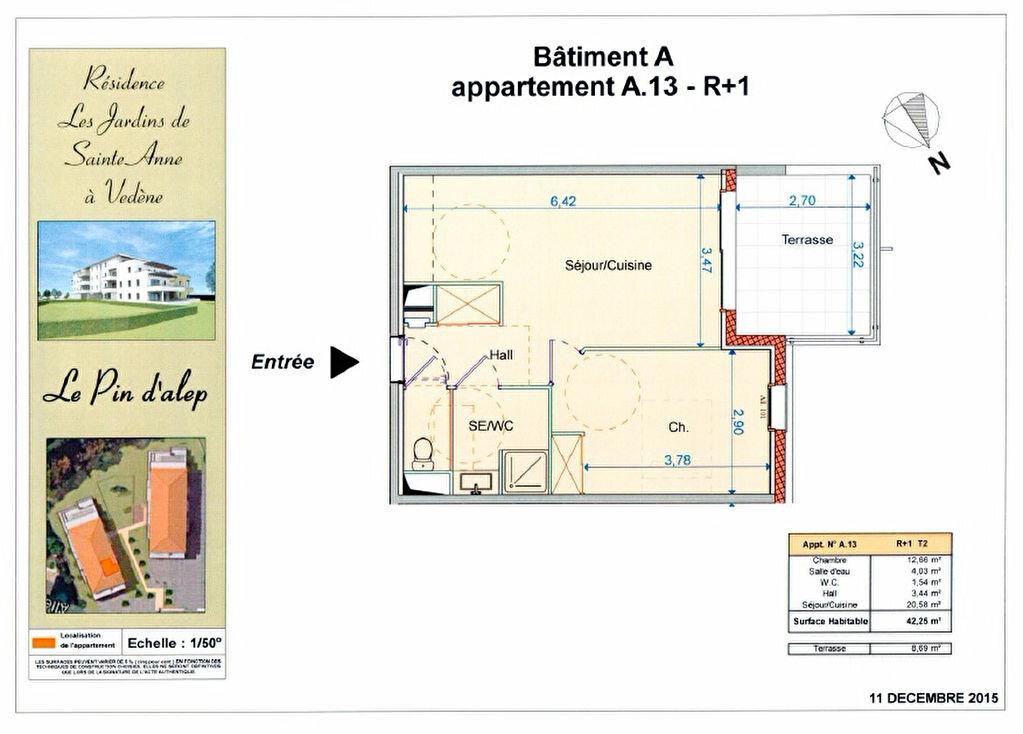 Achat Appartement 2 pièces à Vedène - vignette-3