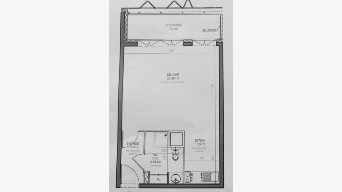 Achat Appartement 1 pièce à Bègles - vignette-1