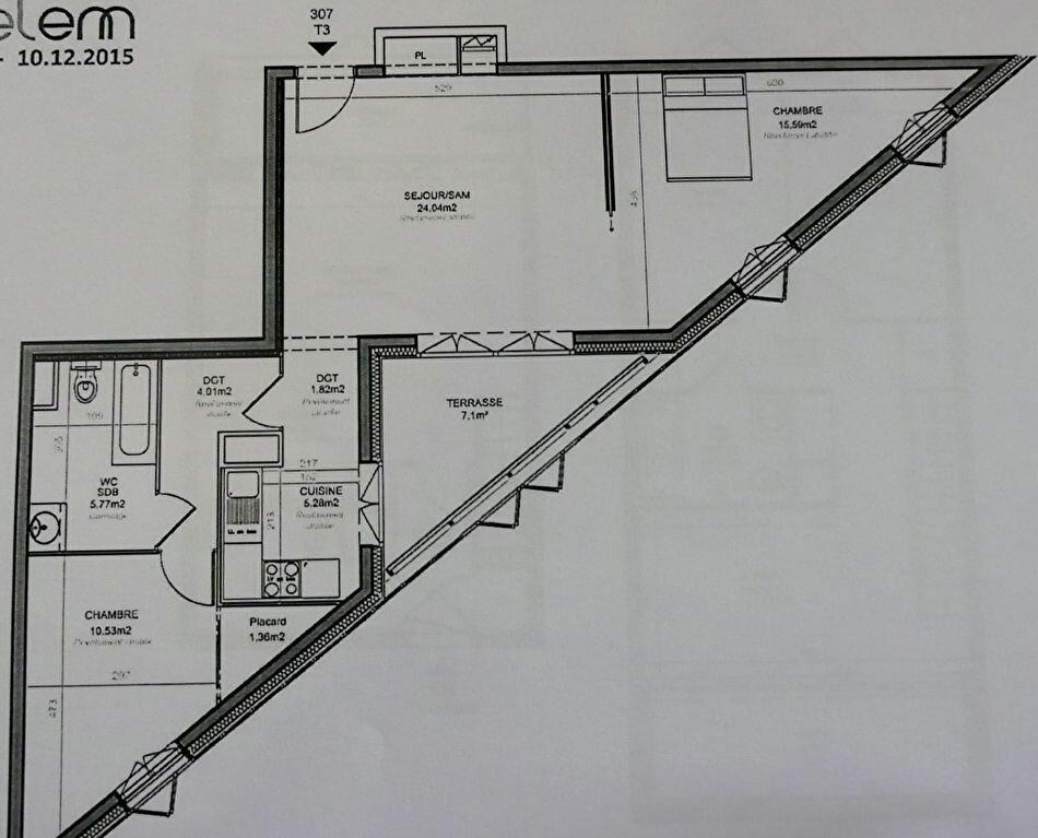 Achat Appartement 3 pièces à Bègles - vignette-1