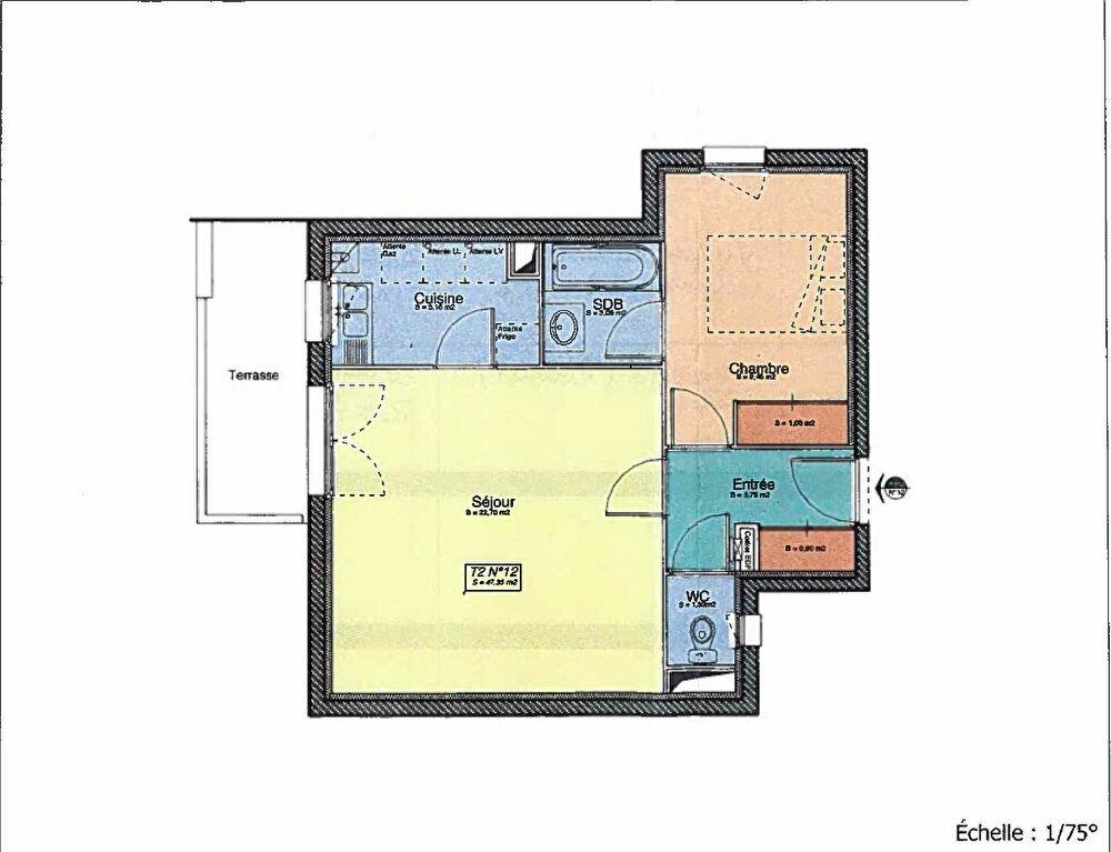 Achat Appartement 2 pièces à Colomiers - vignette-2