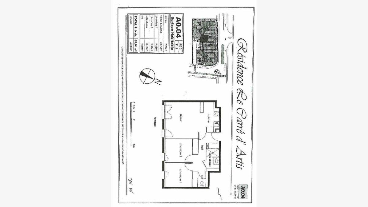 Achat Appartement 3 pièces à Beauzelle - vignette-6