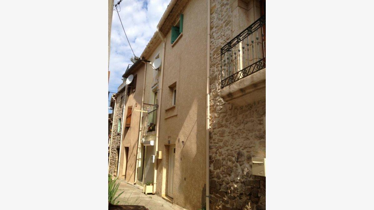 Location Maison 2 pièces à Villeveyrac - vignette-1
