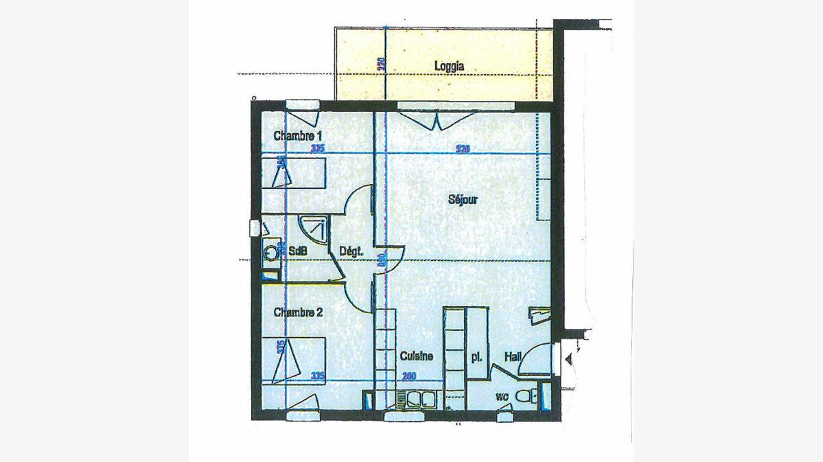 Achat Appartement 3 pièces à Saint-Denis-lès-Bourg - vignette-1