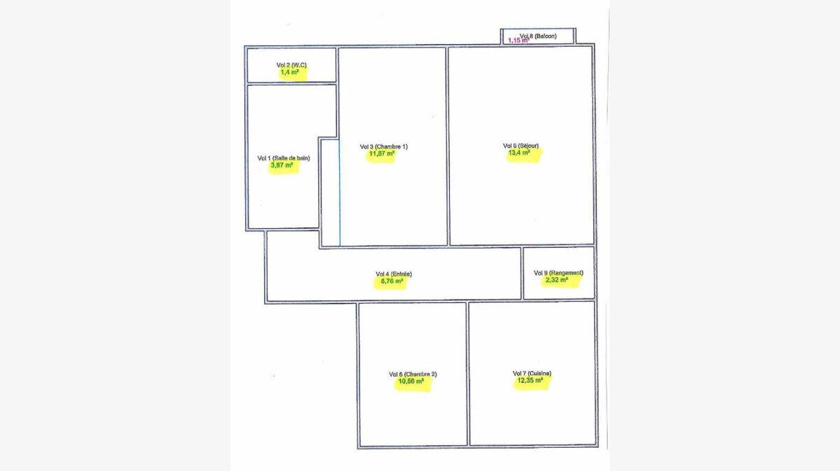 Achat Appartement 3 pièces à Bourg-en-Bresse - vignette-2