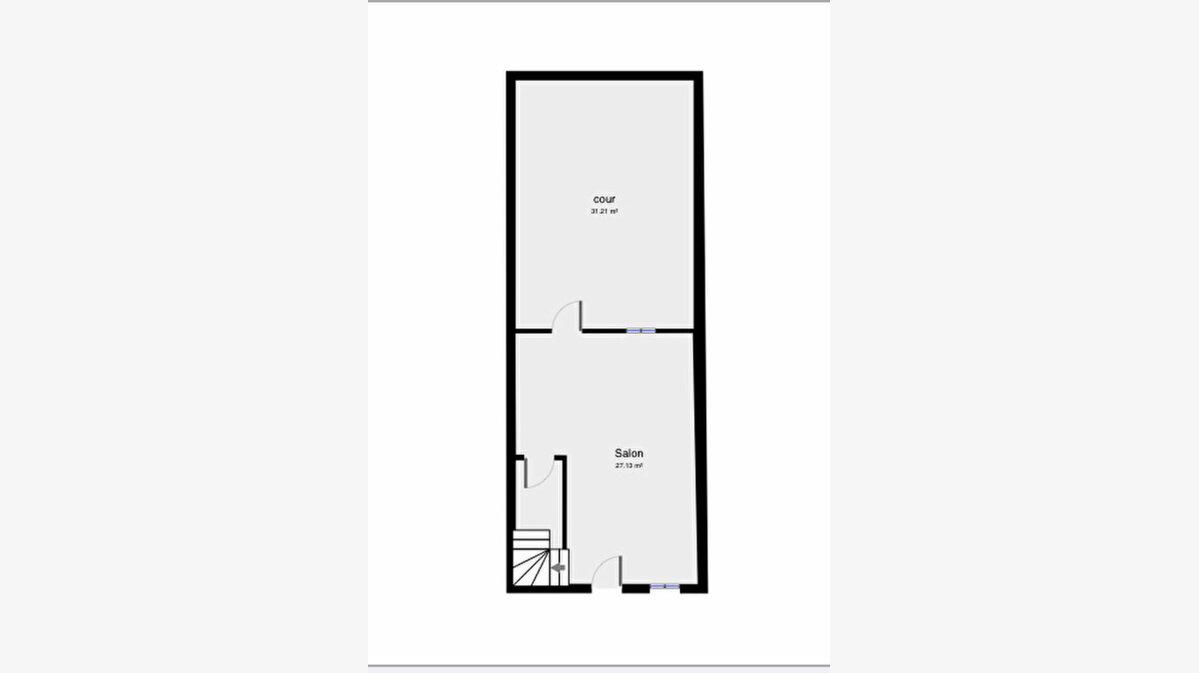Achat Maison 3 pièces à Montaigut - vignette-5