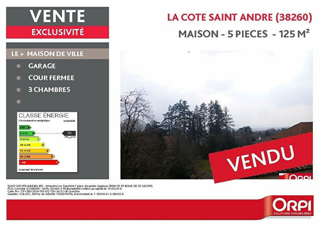 Achat Maison 5 pièces à La Côte-Saint-André - vignette-1