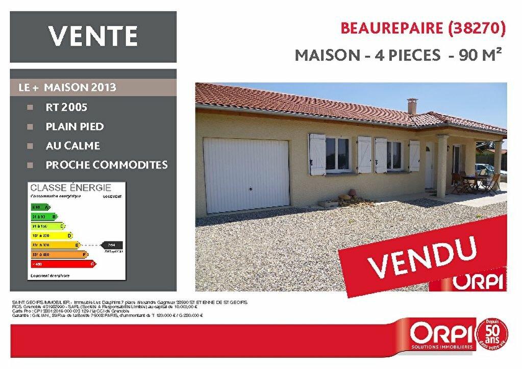 Achat Maison 4 pièces à Beaurepaire - vignette-1