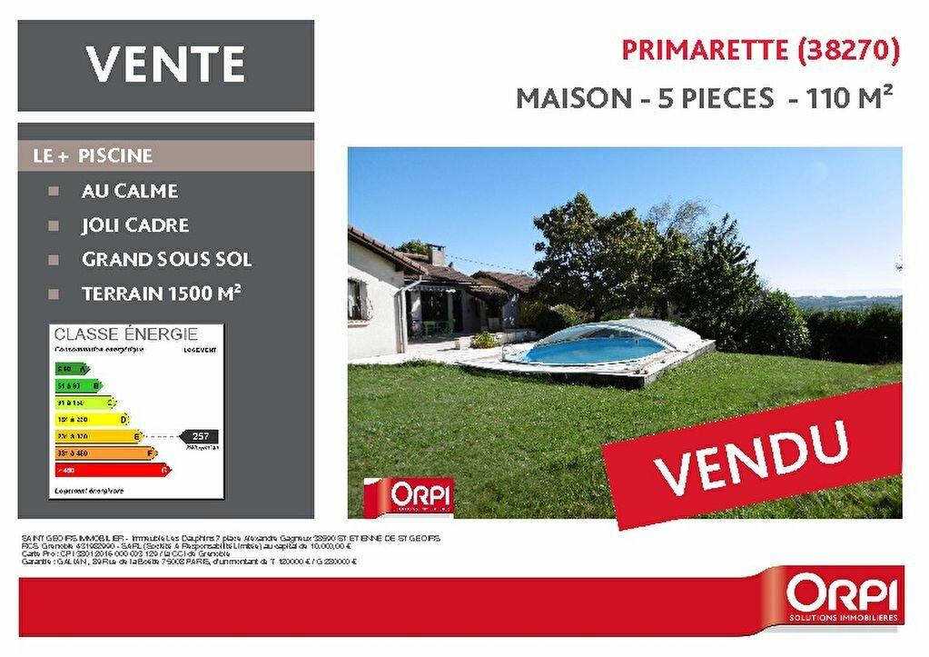 Achat Maison 5 pièces à Primarette - vignette-1
