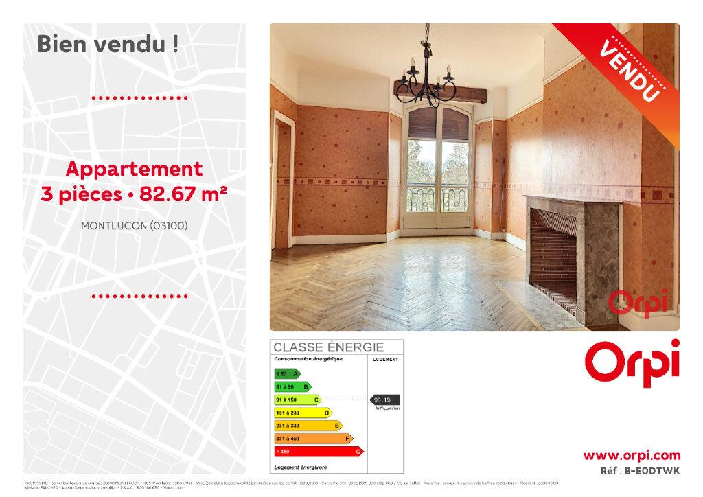 Achat Appartement 3 pièces à Néris-les-Bains - vignette-2