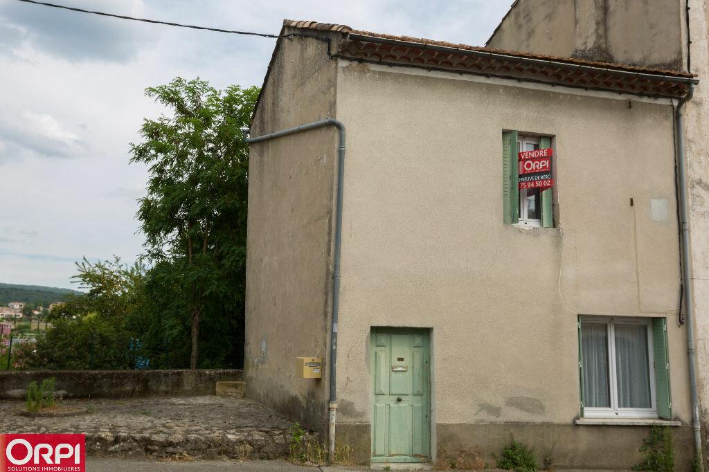 Achat Maison 2 pièces à Villeneuve-de-Berg - vignette-1