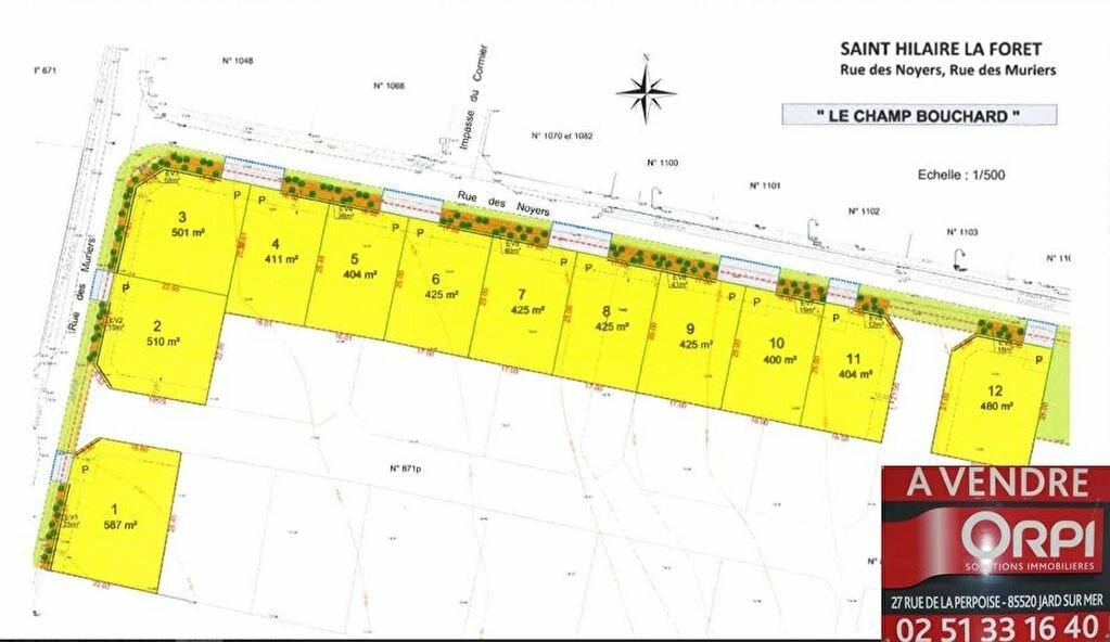 Achat Terrain  à Saint-Hilaire-la-Forêt - vignette-1