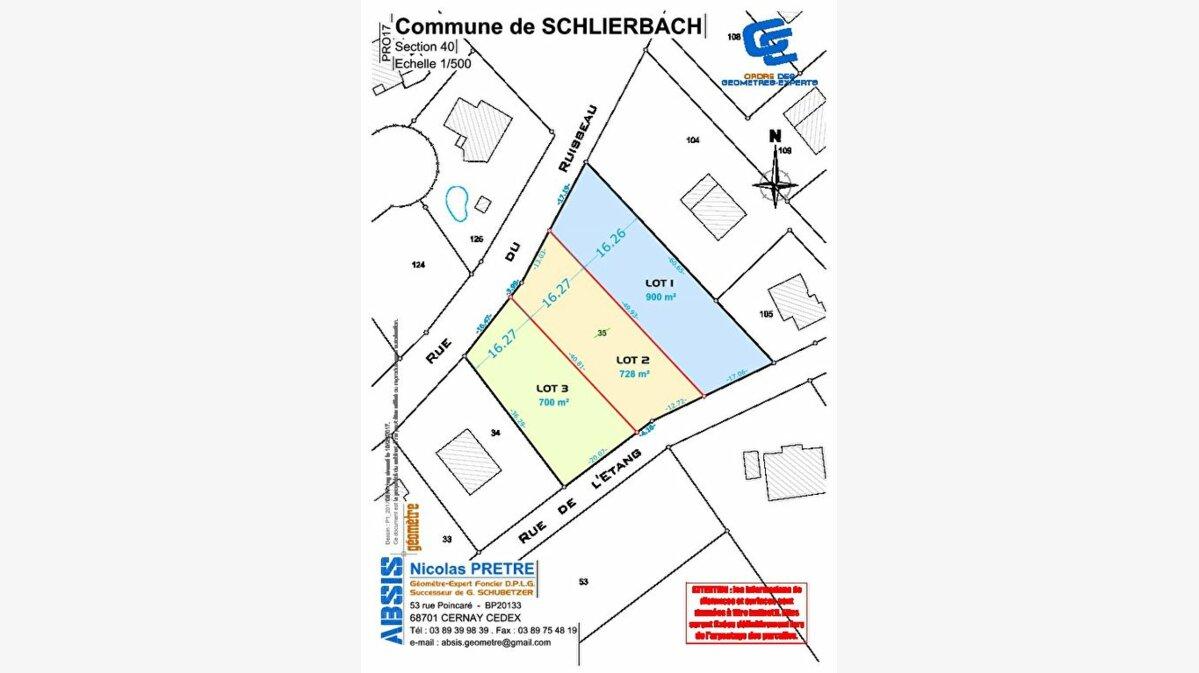 Achat Terrain  à Schlierbach - vignette-3