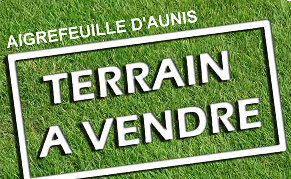 Achat Terrain  à Aigrefeuille-d'Aunis - vignette-1