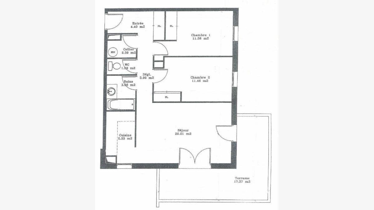 Achat Appartement 3 pièces à Mont-de-Marsan - vignette-4