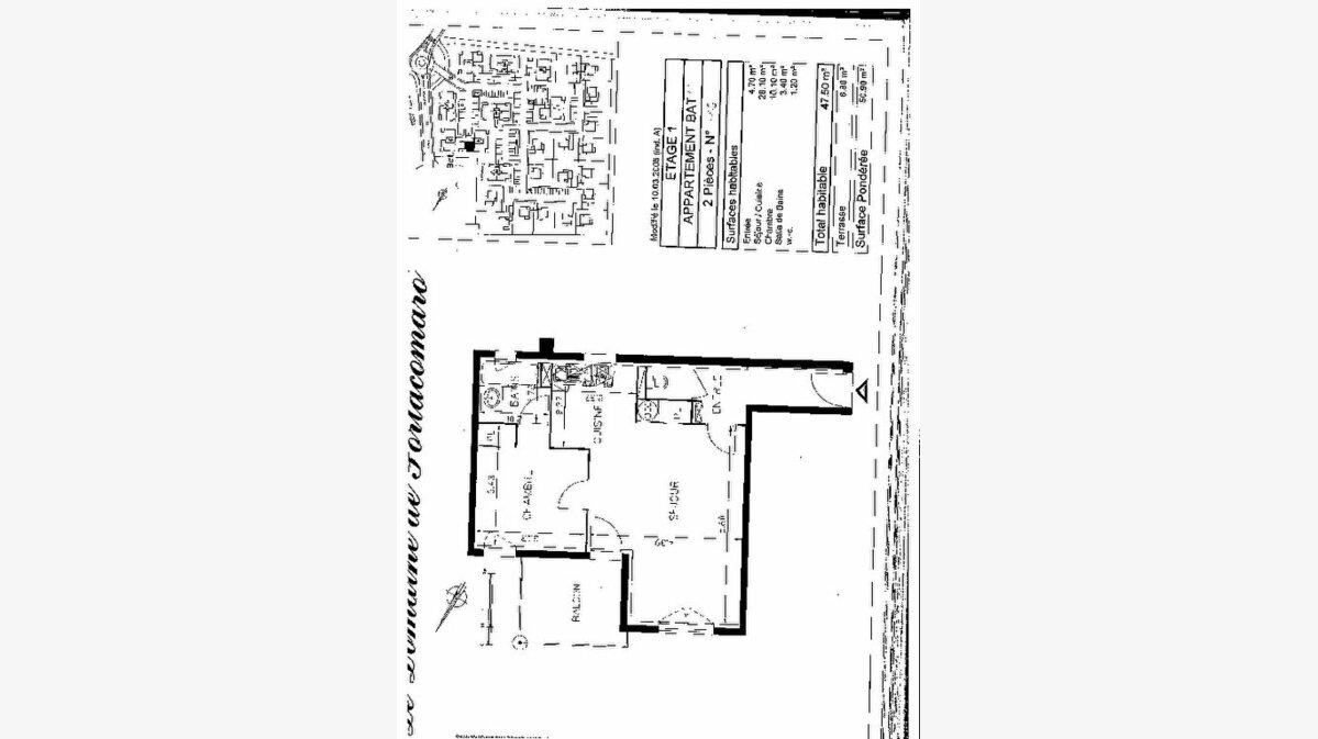 Location Appartement 2 pièces à Boé - vignette-1