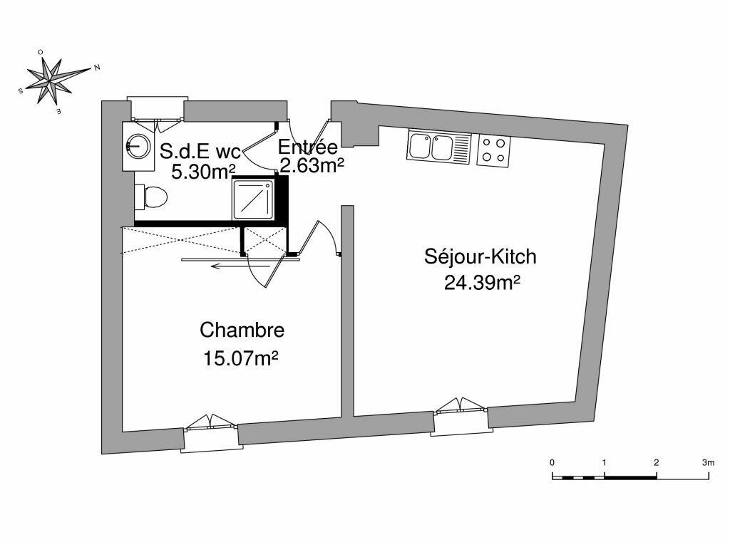 Location Appartement 2 pièces à Pézenas - vignette-8