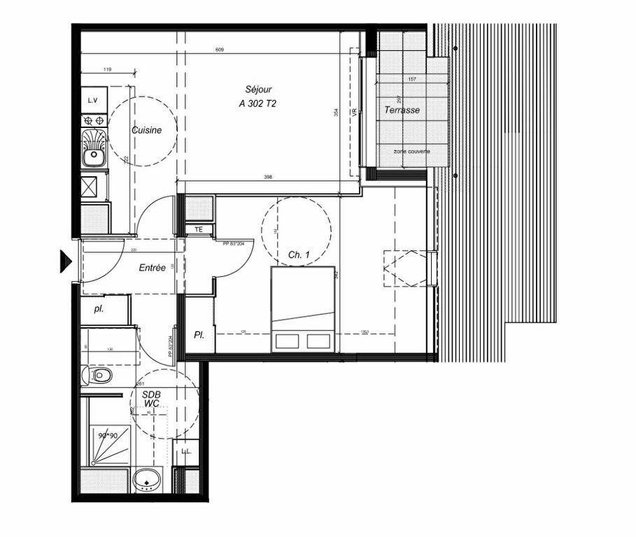 Achat Appartement 3 pièces à Carnac - vignette-1